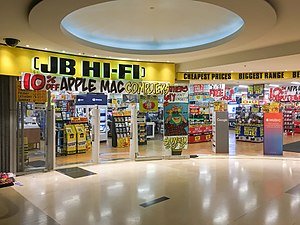 JB Hi-Fi - JB Hi-Fi store in The Galeries Shopping Centre, Sydney