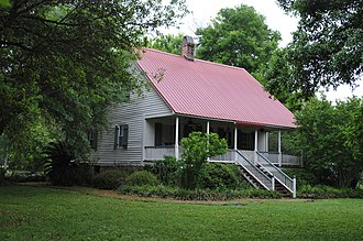 National Register of Historic Places listings in Pointe Coupee Parish, Louisiana - Image: JEAN BAPTISTE BERGERON HOUSE, POINTE COUPEE PARISH, LA