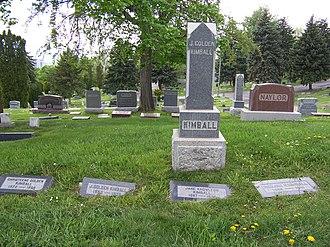 J. Golden Kimball - Image: J Golden Kimball Grave
