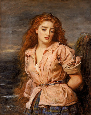 Margaret Wilson (Scottish martyr) - Painting of Wilson, The Martyr of Solway, by John Everett Millais, 1871.