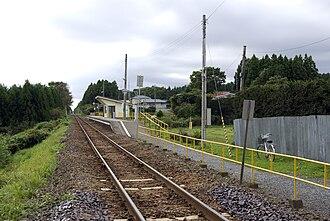Kadonohama Station - Kadonohama Station in September 2009