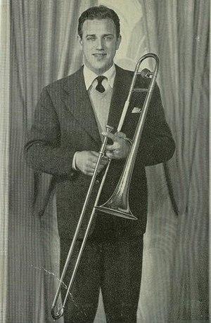 Jack Fulton (singer) - Image: Jack Fulton with trombone