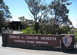 The Thomas A. Jaggar Museum at Hawaii Volcanoe...