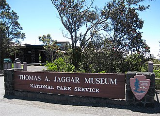 Hawaiian Volcano Observatory - The Jaggar Museum was open to the public until the Kīlauea section of the national park was closed on May 10, 2018