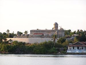 Historic Centre of Cienfuegos - View of the Fort of Jagua