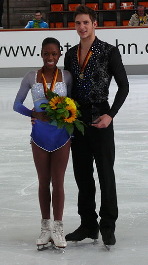 Morgan Ciprès - James and Ciprès at the 2012 Nebelhorn Trophy