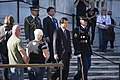 Japan's former minister of finance lays a wreath at the Tomb of the Unknown Soldier in Arlington National Cemetery (29635885114).jpg