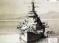Japanese cruiser Maya bow view, 1938.jpg