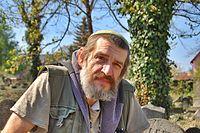 Jaroslav Achab Haidler, Jewish cemetery in Sobědruhy 02.JPG