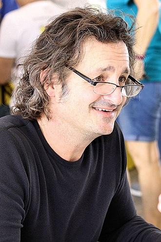 Jeff Smith (cartoonist) - Smith at the 2018 Texas Book Festival