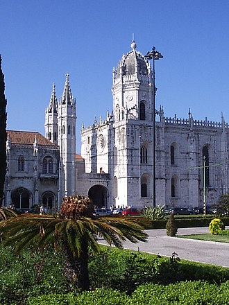 Jerónimos Monastery - The entrance to the main church and cloister