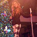 Jessica Sanchez Hollywood and Highland Tree Lighting.JPG