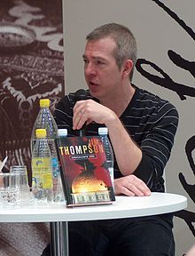 James Thompson at the Helsinki Book Fair in 2008.
