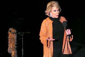 Joan Rivers - Rivers performing at a London Udderbelly event in May 2009