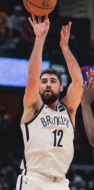 Joe Harris (basketball) - Harris with Brooklyn in February 2019