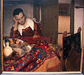 Johannes Vermeer, cameriera addormentata, 1656-57 ca. 02.JPG
