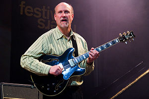 2006 in jazz - John Scofield at Moers Festival,  June 2006, Germany.
