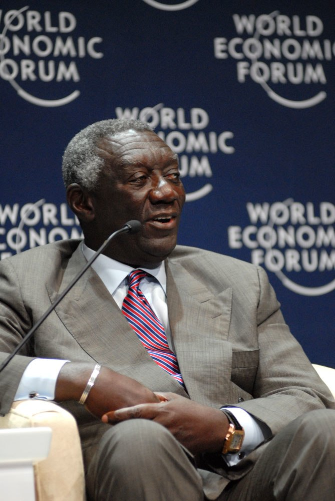 John Agyekum Kufuor - World Economic Forum on Africa 2008