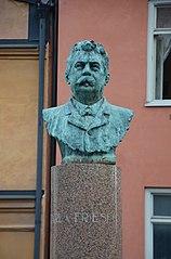 Byst över Carl von Friesen