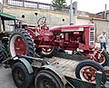 John Deere 2030 with IH tractor on trailer (4).jpg