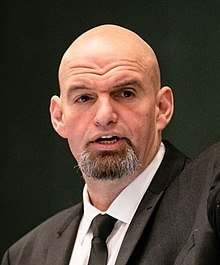 John Fetterman Lieutenant Governor Inauguration (cropped).jpg