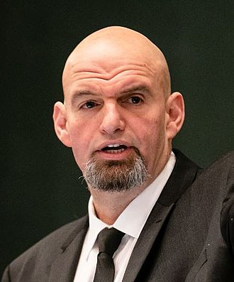 Lieutenant Governor of Pennsylvania - Image: John Fetterman Lieutenant Governor Inauguration (cropped)