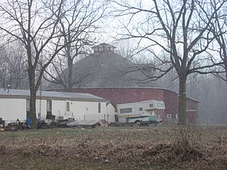 John Haimbaugh Round Barn Historic building in Indiana, US
