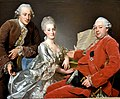 John Jennings Esq., his Brother and Sister-in-Law, by Alexander Roslin (1718-1793). Nationalmuseum, Stockholm, Sweden.jpg