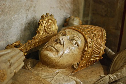 Effigy of John Newland John Newland tomb Bristol cathedral.jpg