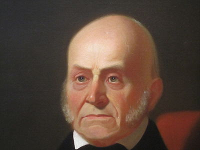 Adams as he appears in the National Portrait Gallery in Washington, D.C. John Quincy Adams in National Portrait Gallery IMG 4490.JPG