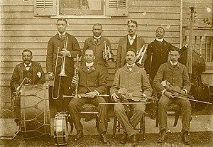 John Robichaux - Image: John Robichaux Orchestra 1896