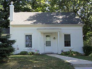 John Smith House (Le Claire, Iowa) - Image: John Smith House (Le Claire, Iowa)