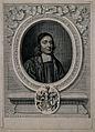John Wallis. Line engraving by D. Loggan, 1678, after himsel Wellcome V0006130.jpg
