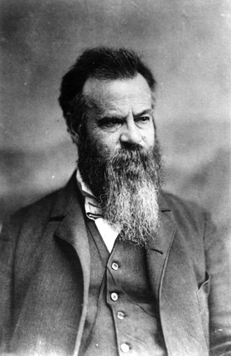 John Wesley Powell - Powell served as the second Director of the United States Geological Survey, a post he held from 1881–1894. This photograph dates from early in his term of office.