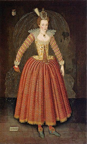 Hymenaei - Image: John de Critz Lucy Harington Countess of Bedford