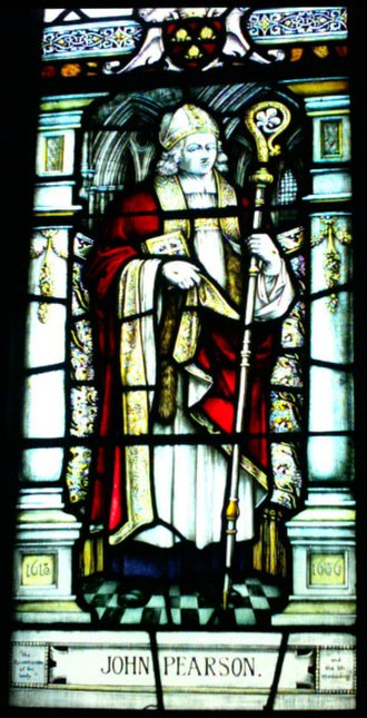 John Pearson (bishop) - John Pearson in a Chester Cathedral stained glass window