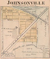 Johnsonville Indiana map from 1877 atlas.png