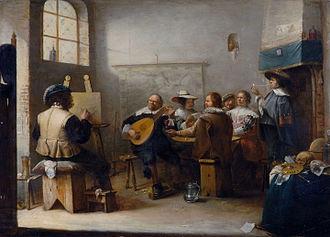 Joos van Craesbeeck - The Painter's Studio