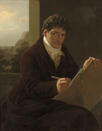 Josef Grassi - Self-portrait (after 1800)
