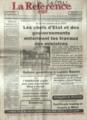 Journal la Reference Plus No 4644 du 7 sept 2009 Kinshasa.png