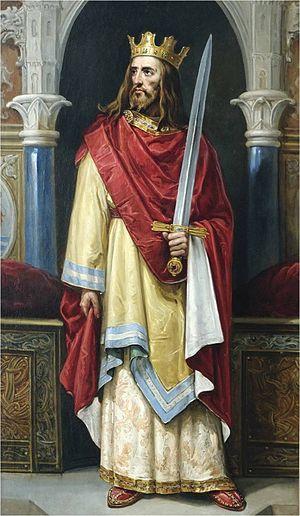 Juan Alfonso de Baena - 19th century depiction of Juan II