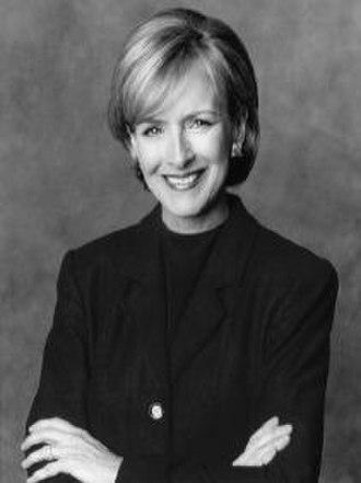 Judy Woodruff - Woodruff in 1998