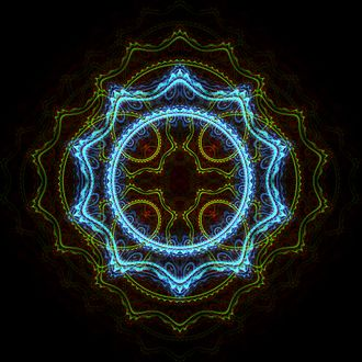 Fractal art - A piece generated in Apophysis
