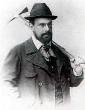 Julius Kugy - Kugy about 1890