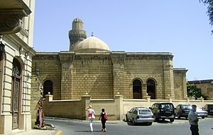 Azerbaijan Carpet Museum - Former building of the museum, now the Juma Mosque