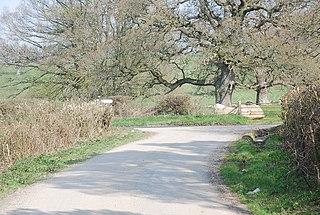 West Tisbury, Wiltshire civil parish in Wiltshire, England