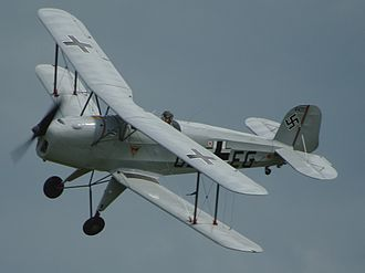 Bücker Bü 131 - Image: Jungmann at Old Warden