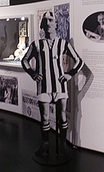Juventus Museum - Carlo Bigatto, First Captain of Juve (edited).jpg
