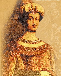 Kösem Sultan wife of Ottoman Sultan Ahmed I and Sultan Regent for two decades
