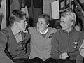 Küppers, Adrie Lasterie en Wiltrud Urselmann (1962).jpg